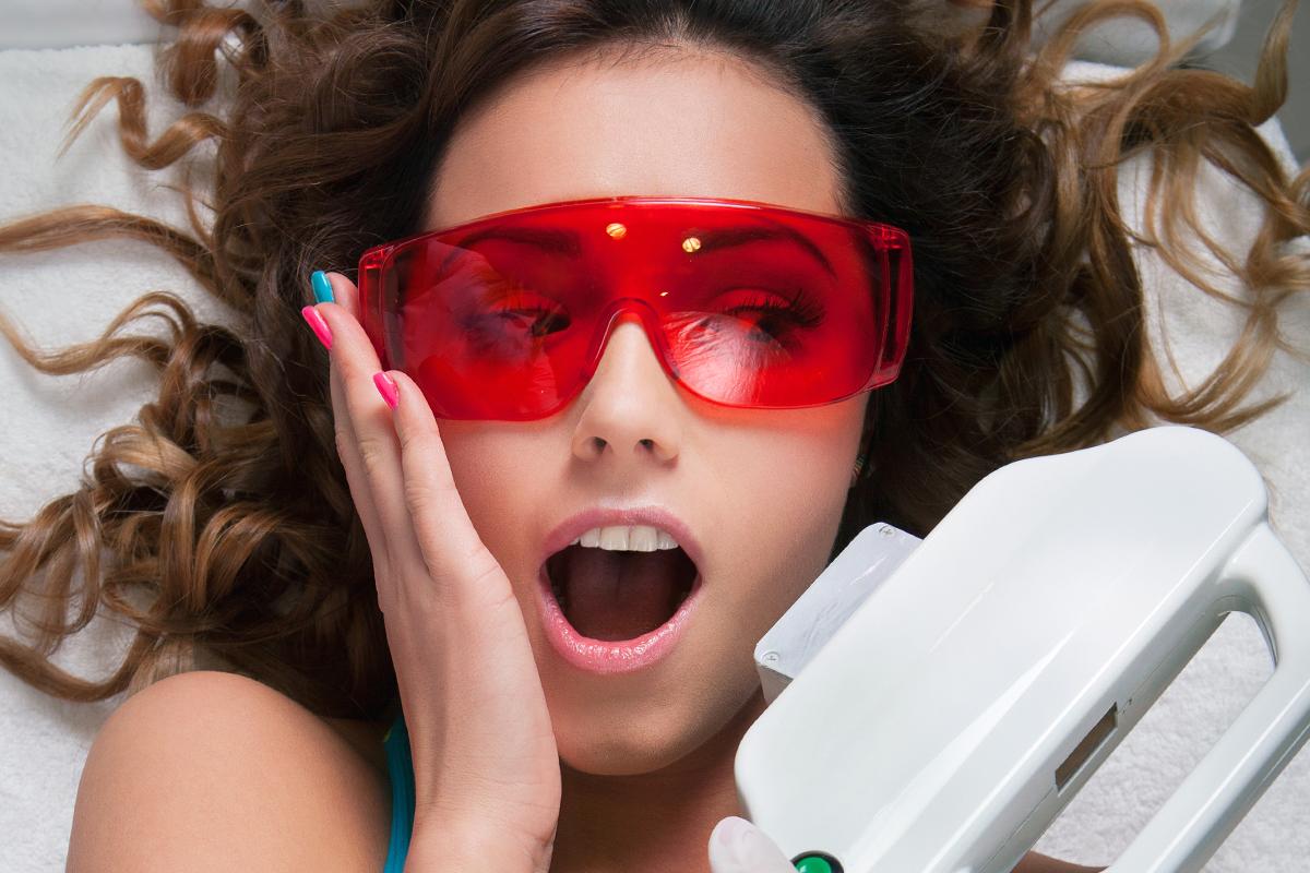 Лазерна епіляція обличчя